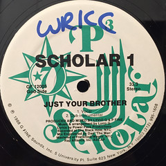 SCHOLAR 1:TURN UP THE RADIO(LABEL SIDE-B)