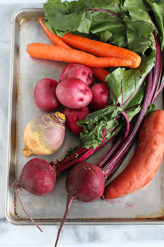 Roasted Root Vegetables Recipe with Rosemary...205 calories and 4 Weight Watchers SmartPoints