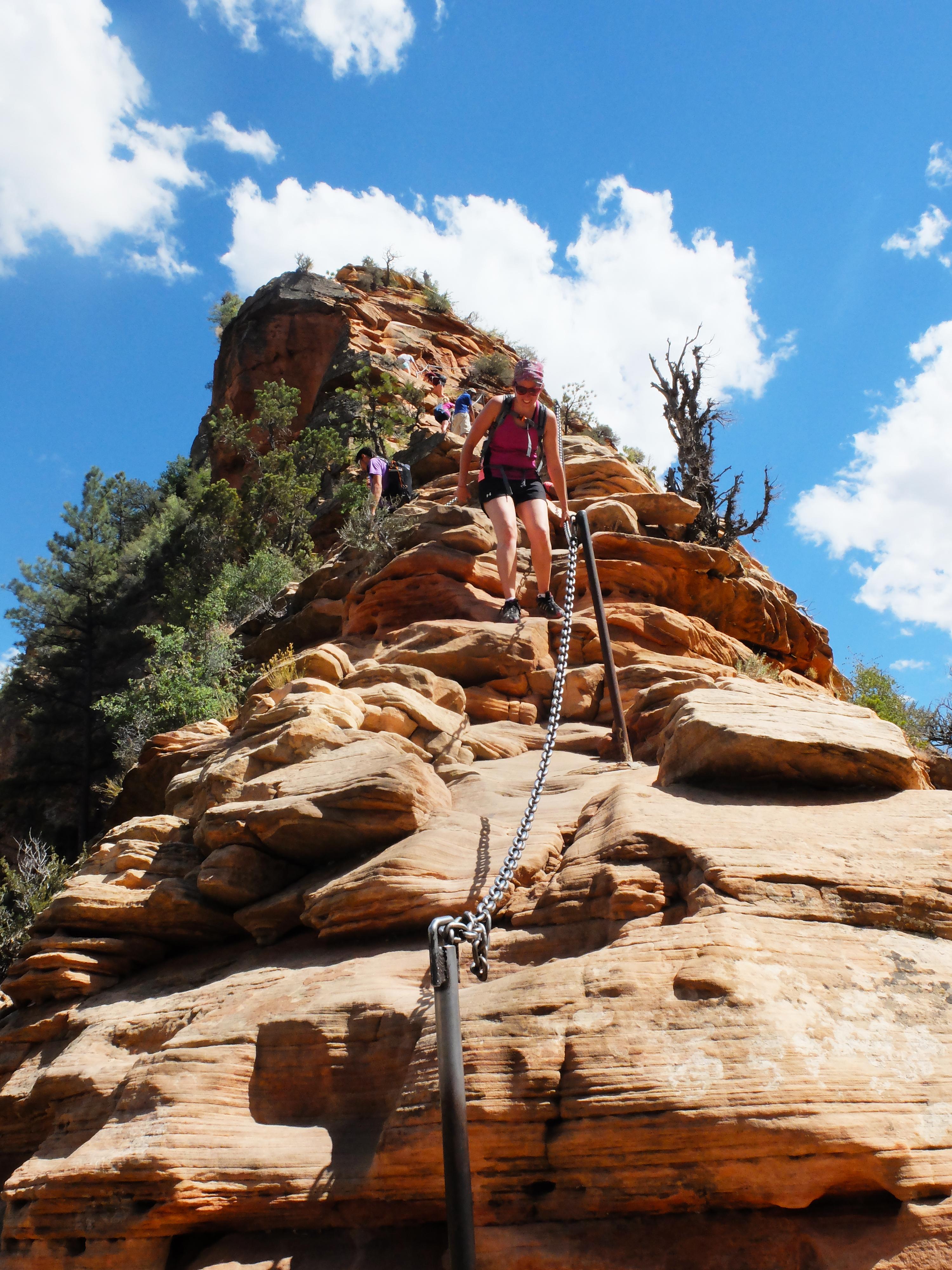 Angel Landing Zion National Park Utah