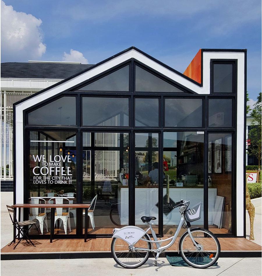 The Parque Cafe Ecoworld Eco Sanctuary Glasshouse Cafe