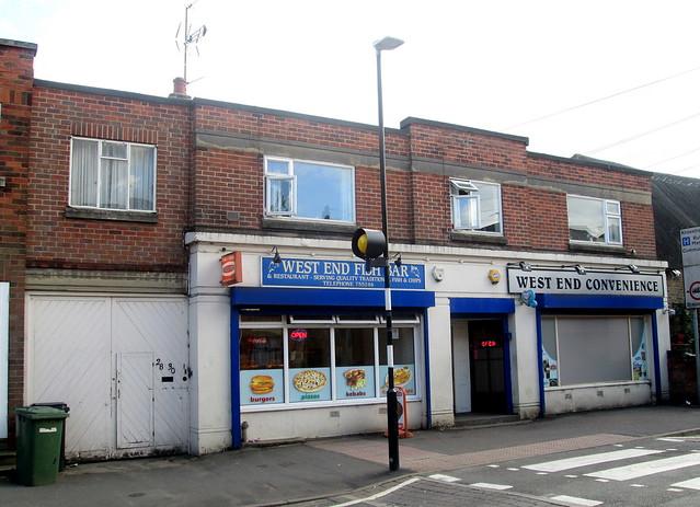 Art Deco Terrace of Shops, Oakham