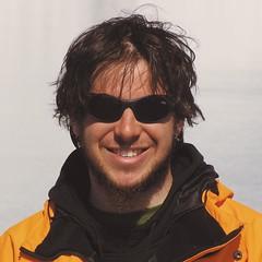 27ENE2007 Autorretrato Isla Medialuna, Antártida Argentina