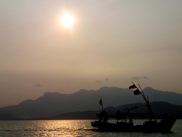 Sunset Pahawang