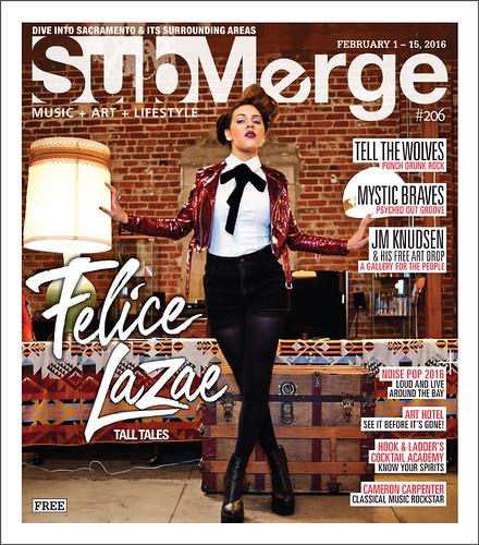 Felice LaZae-M-Submerge-Mag-Cover