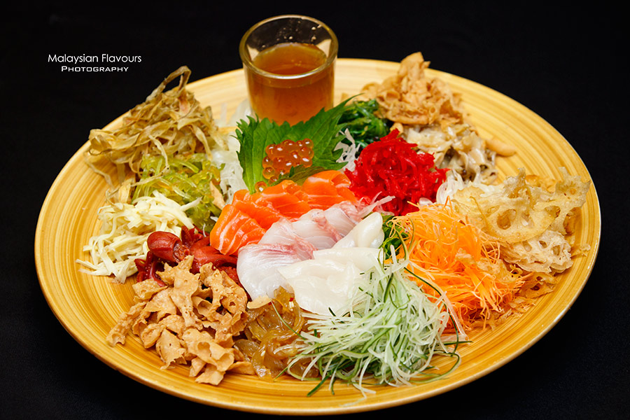 CNY Lou Sang with Hana Sake Bar & Dining