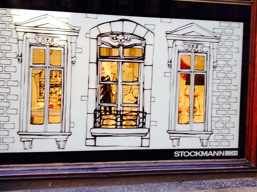 Stockmannin näyteikkuna