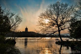 Hangzhou and West Lake by alpenbild.de