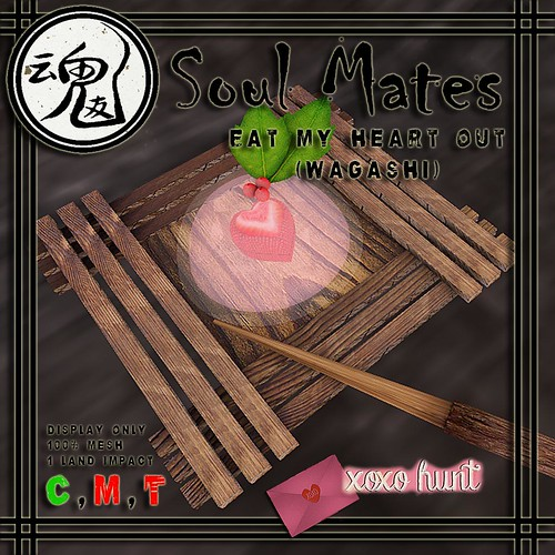 [Soul Mates] Eat My Heart Out - Wagashi Ad