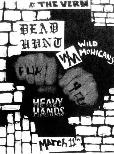 3/11/16 DeadHunt/WildMohicans/HeavyHands