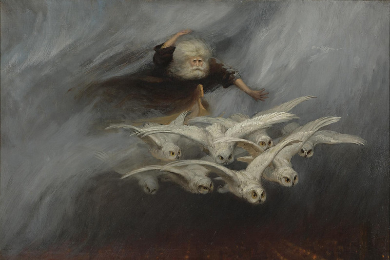 William Holbrook Beard - The Four Seasons, Winter, 19th C