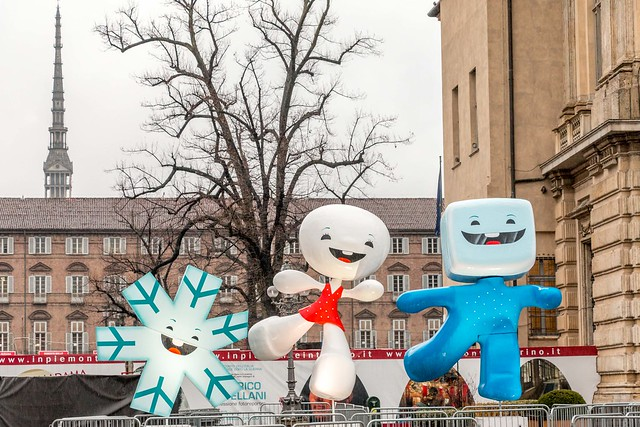 The olympic mascots