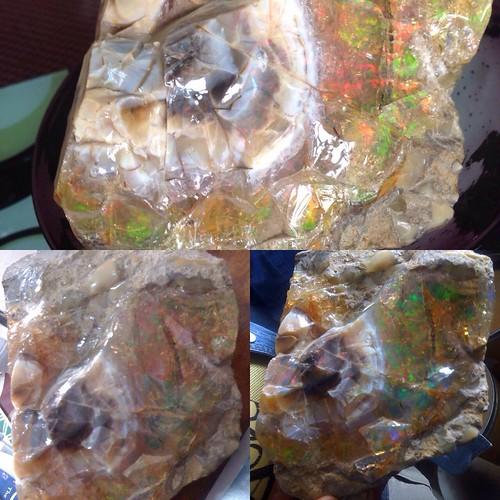30,000ctw Huge Welo Ethiopia Opal Rough/Specimen. Excellent collection rough piece.