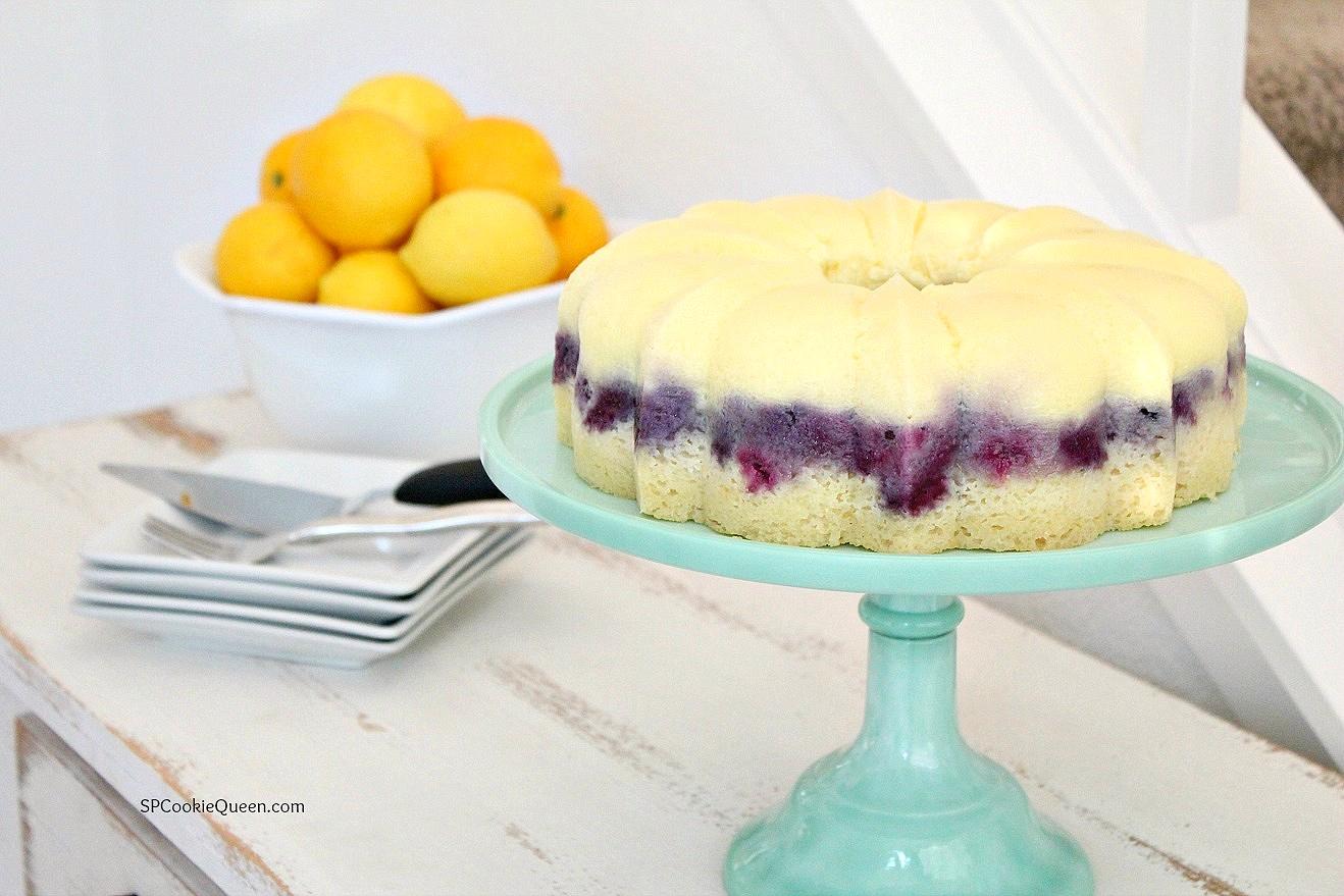 Lemon, Blueberry Masterpiece