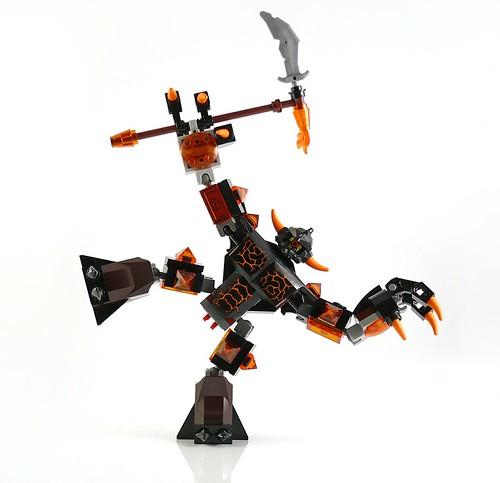 LEGO Nexo Knights 70316 Jestro's Evil Mobile figures23
