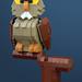 Archimedes Owl by Legohaulic
