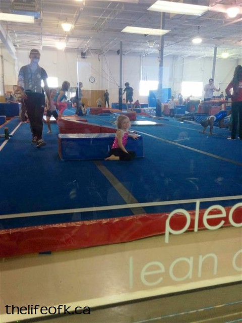 LittleK at Gymnastics