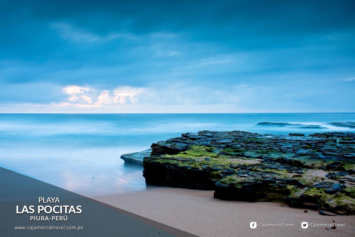 Considerada una de las playas más hermosas de Perú.