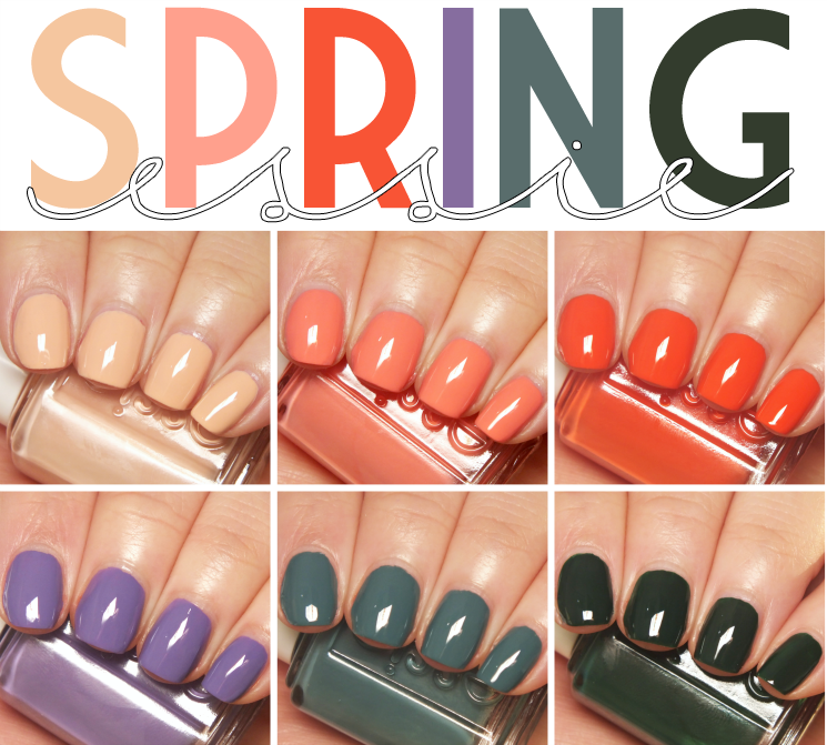 essie spring 2016 collage