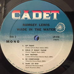 RAMSEY LEWIS:WADE IN THE WAKER(LABEL SIDE-B)