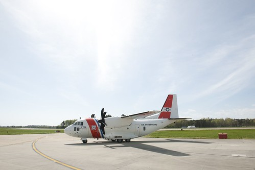 Coast Guard introduces new C-27J Medium Range Surveillance airplane