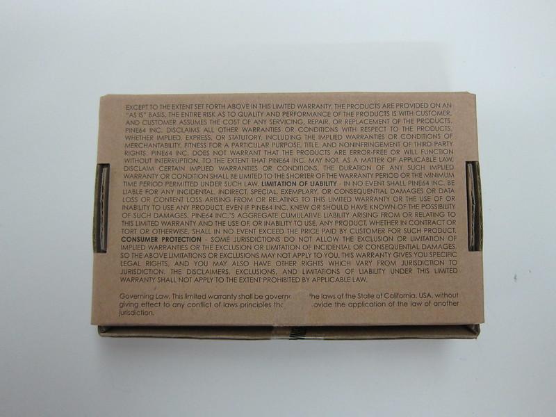 PINE A64 - Box Back