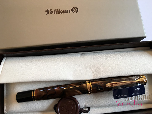 Review Pelikan Souverän M800 Grand Place Fountain Pen @AppelboomLaren (1)