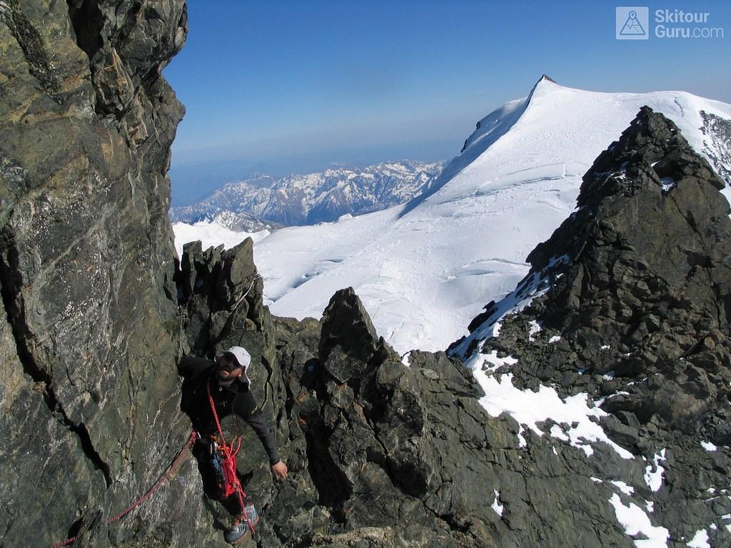 Rimpfischhorn Walliser Alpen / Alpes valaisannes Switzerland photo 14