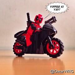 #LEGO #Deadpool #Motorcycle #Marvel @Marvel @vancityreynolds @lego_group @lego @bricksetofficial @bricknetwork @brickcentral