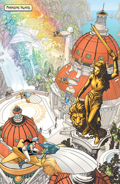 Wonder Woman - Earth One Paradise Island