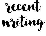 recentwriting