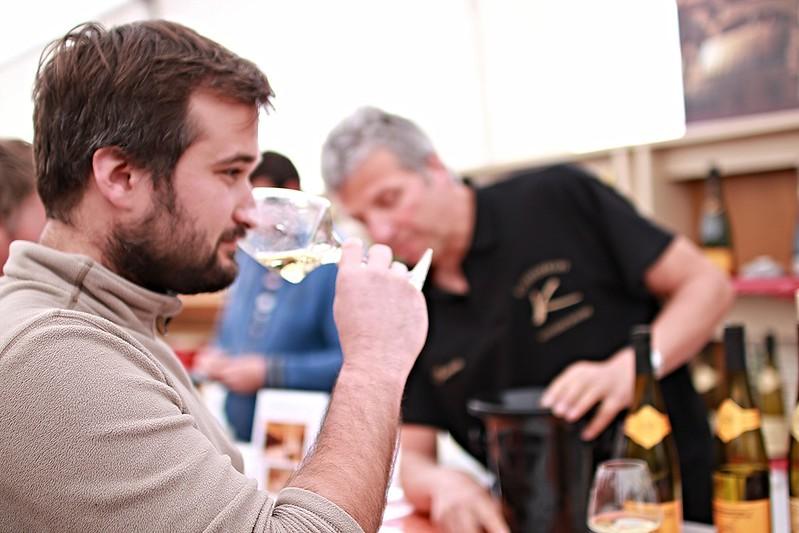Alsace Wine Road - WIne tasting at Ammerschwihr