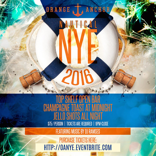 New Year's Eve at Orange Anchor