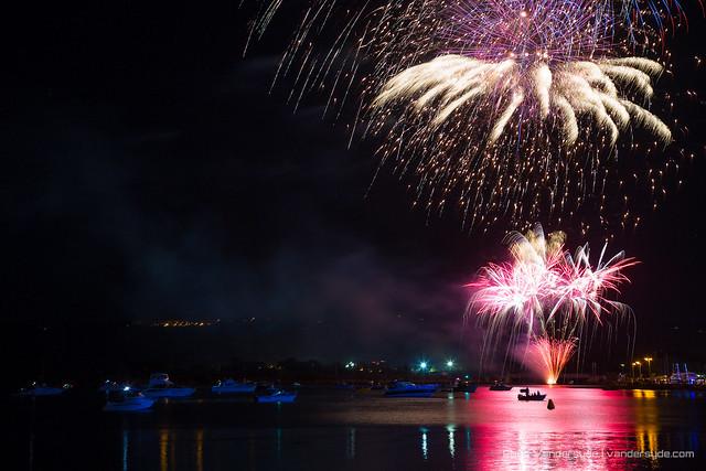 NYE Fireworks - Gosford, NSW, Australia