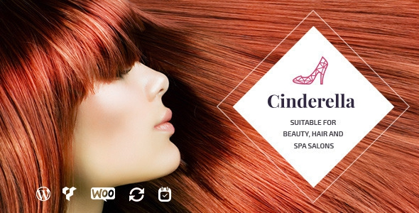 Themeforest Cinderella v1.4.1 - Theme for Beauty, Hair and SPA Salons