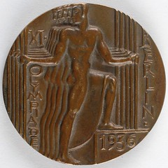 Berlin 1936 Summer Olympics Participation Medal obverse
