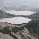 Dos de los cinco lagos