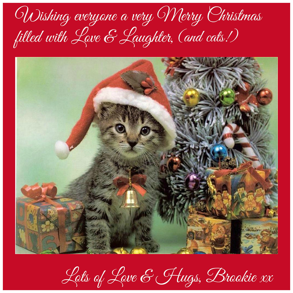 Merry Christmas, Love Brookie xx
