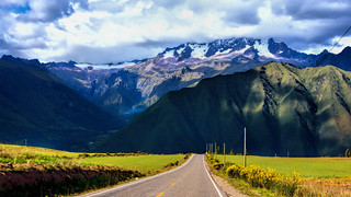 The sacred valley road