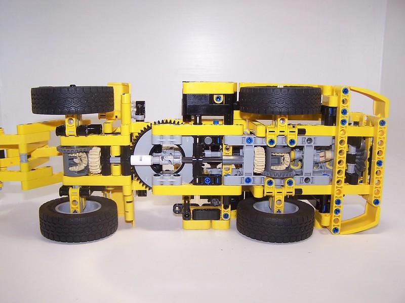 Review 42049 Mine Loader Lego Technic Mindstorms Model Team
