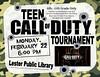Teen Call of Duty Tournament