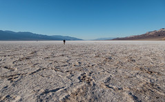 Sunset time in Badwater Basin