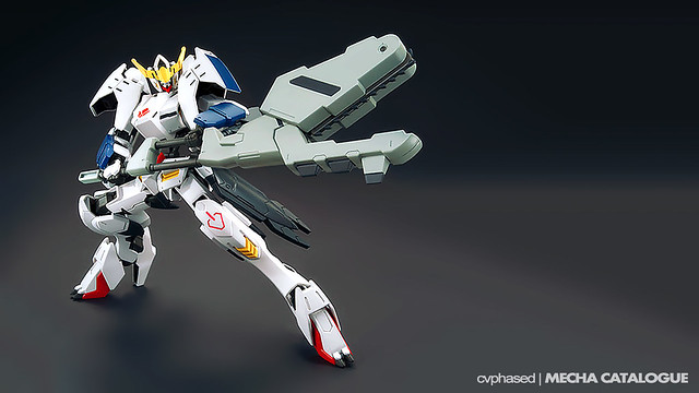 HG IBO Gundam Barbatos New Form - Colored Prototype Shots