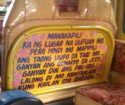 jeepney-advice
