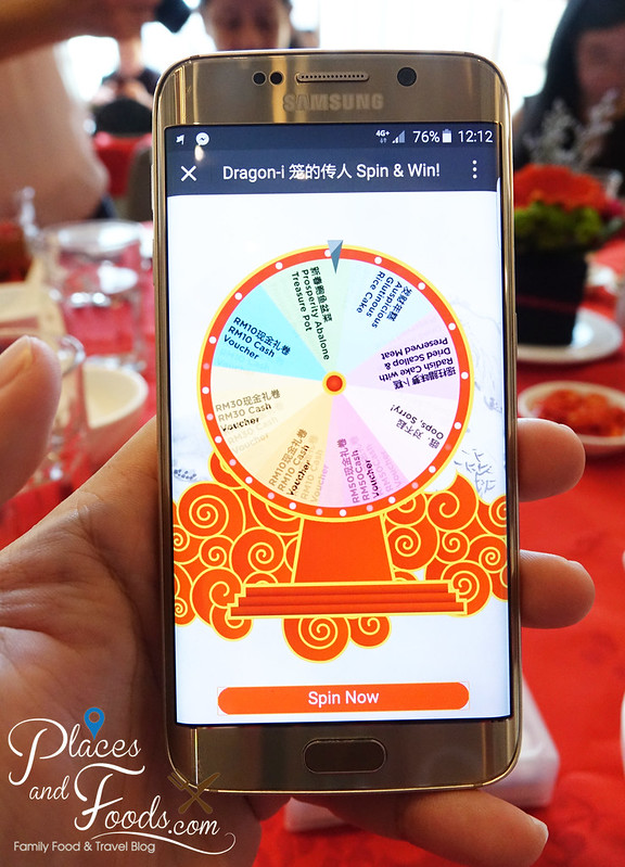 dragon i cny lucky wheel on phone