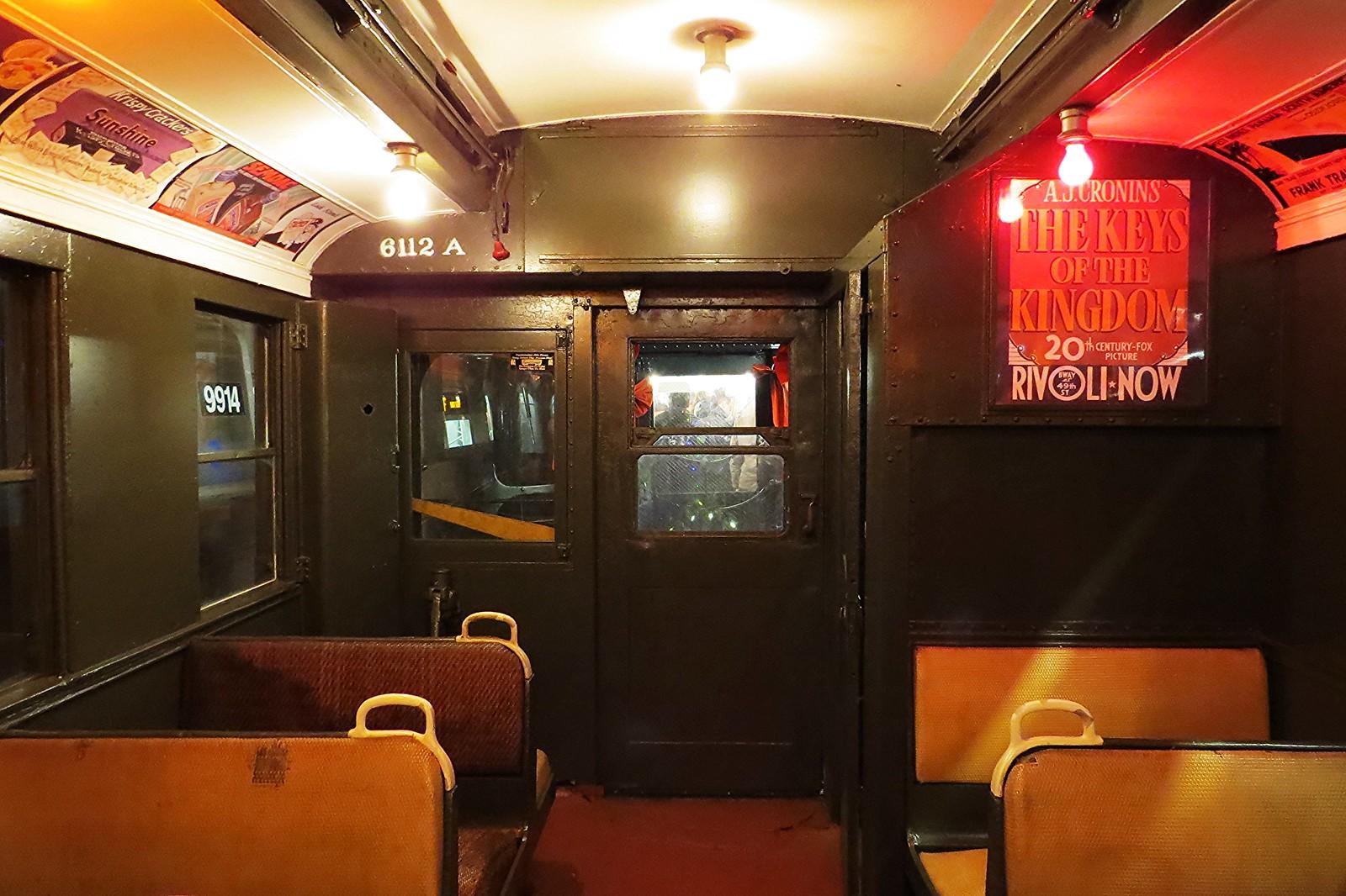 Retro train, Subway, New York