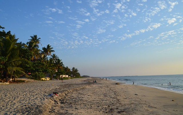 In Kerala- Alleppey Beach