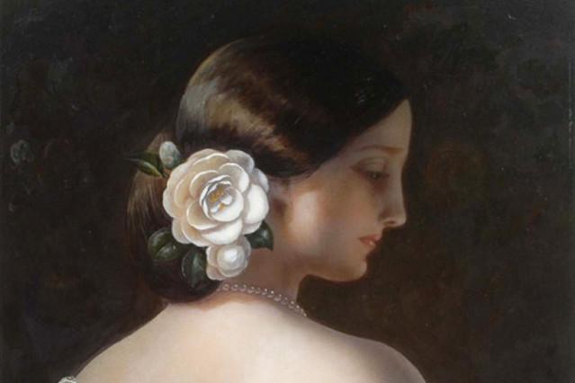 Marie Duplessis, La Dame aux camélias © Kinuko Y. Craft