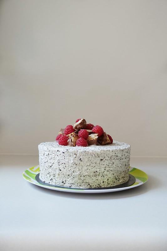 4 Layer Raspberry & Cream Sponge Cake