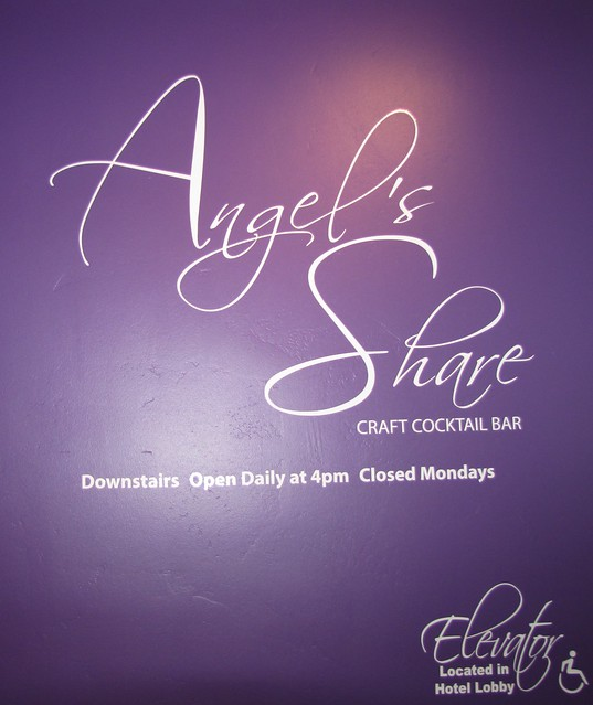 Angel's Share Lounge at Lalla Oceanside Grill