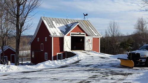 Old Barnard barn